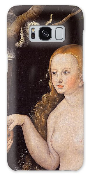 Apple Galaxy S8 Case - Eve Offering The Apple To Adam In The Garden Of Eden And The Serpent by Cranach