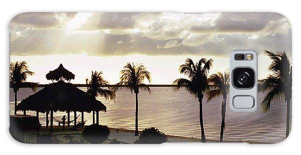 Evening In The Keys - Key Largo Galaxy Case