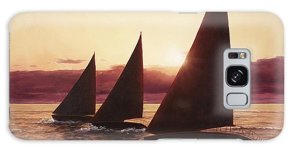 Evening Sails Galaxy Case