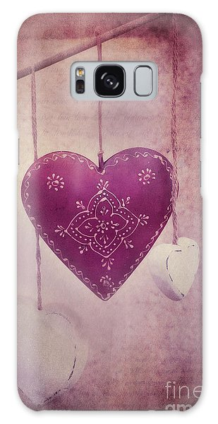 Heart Galaxy Case - Ever And Anon by Priska Wettstein