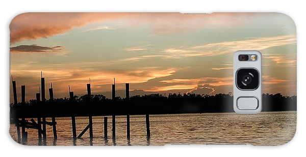 Everglades Sunset Galaxy Case by Nancy Taylor
