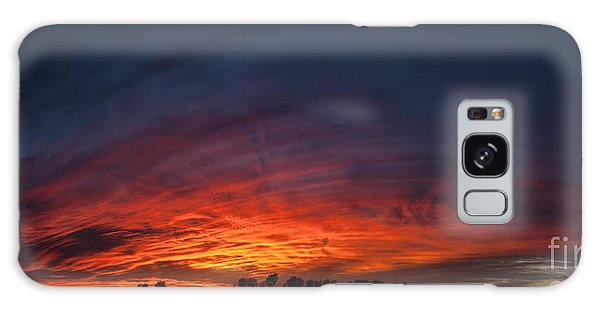 Expansive Sunset Galaxy Case