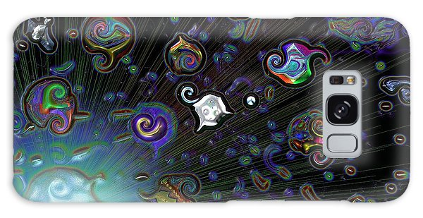 Exploding Star Galaxy Case by Alec Drake