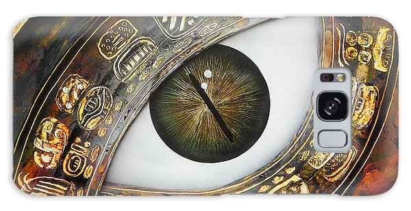 Eye Calendar Galaxy Case