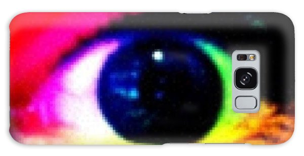 Bright Galaxy Case - Eye by Lea Ward