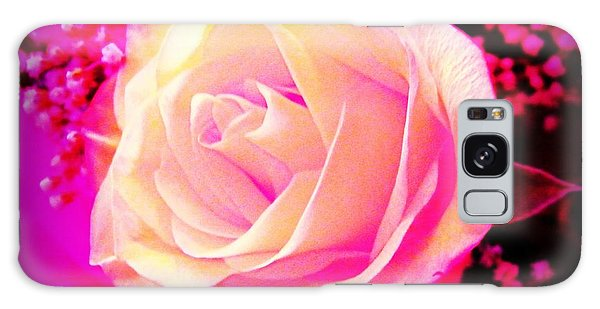 Fairy Rose Galaxy Case by Michelle Frizzell-Thompson