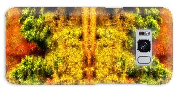 Fall Abstract Galaxy Case by Meirion Matthias