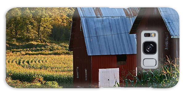 Fall Barns Galaxy Case