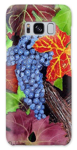 Fall Cabernet Sauvignon Grapes Galaxy Case by Mike Robles