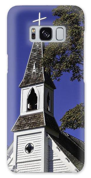 Fall Chapel Galaxy Case by Ken Stanback