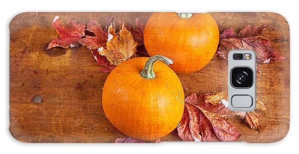 Fall Decorative Pumpkins Galaxy Case by Verena Matthew