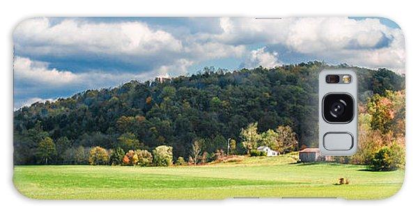 Fall Farm Galaxy Case by Mark Bowmer