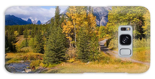 Fall In Banff National Park Galaxy Case by Bob and Nancy Kendrick