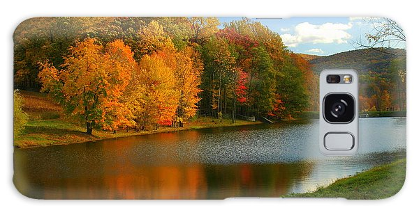 Fall In New York State Galaxy Case
