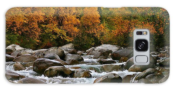 Fall On The Little Susitna River Galaxy Case