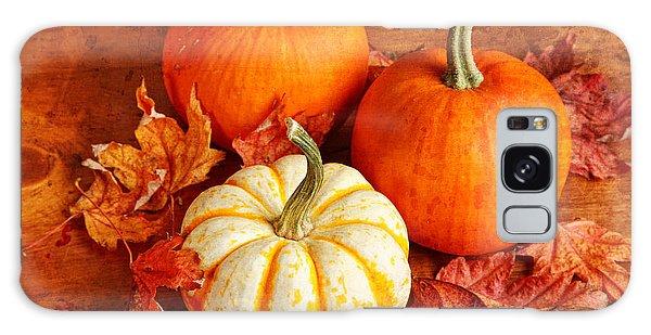Fall Pumpkins And Decorative Squash Galaxy Case by Verena Matthew