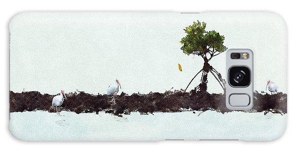 Falling Mangrove Leaf Galaxy Case