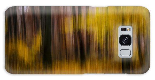 Falling Yellow Galaxy Case