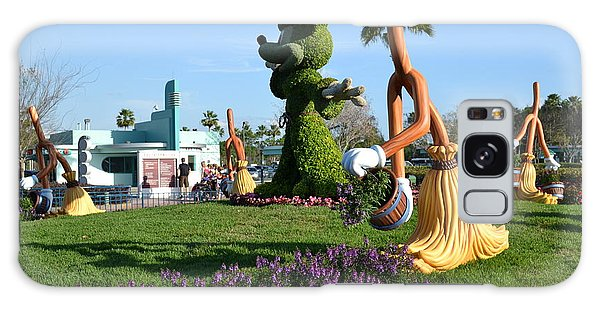 Fantasia In Flowers Galaxy Case