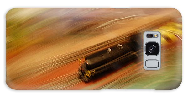 Fast Train Set Galaxy Case by Randy J Heath
