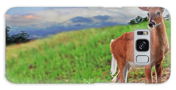 White-tailed Deer Galaxy Case - Fawn by Everet Regal