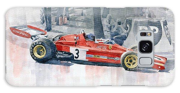 Automobile Galaxy Case - Ferrari 312 B3 Monaco Gp 1973 Jacky Ickx by Yuriy Shevchuk