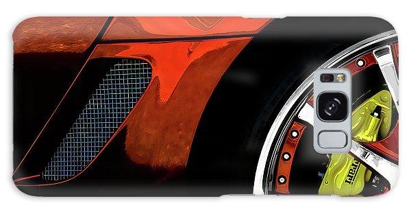 Chrome Galaxy Case - Ferrari Wheel Detail by Douglas Pittman