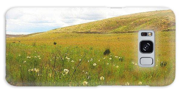 Field Of Dandelions Galaxy Case by Anne Mott