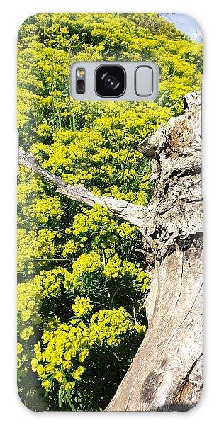 Field Of Flowers 1 Galaxy Case by Gerald Strine