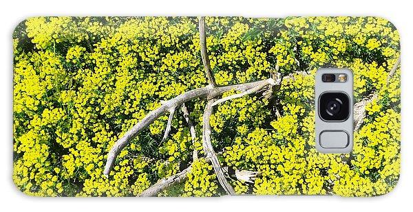 Field Of Flowers 3 Galaxy Case by Gerald Strine