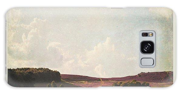 Fields Of Heather Galaxy Case by Lyn Randle