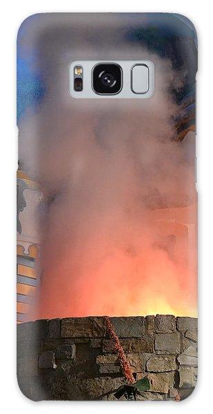 Fiery Entrance Galaxy Case by Bonnie Myszka