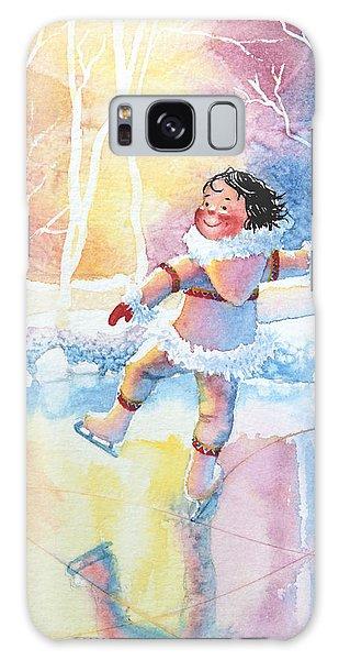 Olympic Figure Skating Galaxy Case - Figure Skater 13 by Hanne Lore Koehler