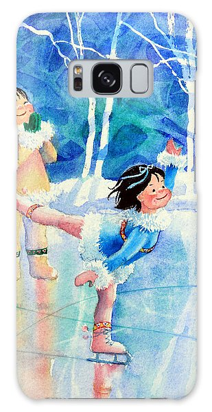 Olympic Figure Skating Galaxy Case - Figure Skater 15 by Hanne Lore Koehler