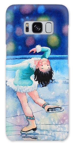 Olympic Figure Skating Galaxy Case - Figure Skater 16 by Hanne Lore Koehler