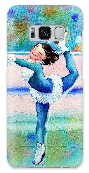 Olympic Figure Skating Galaxy Case - Figure Skater 19 by Hanne Lore Koehler