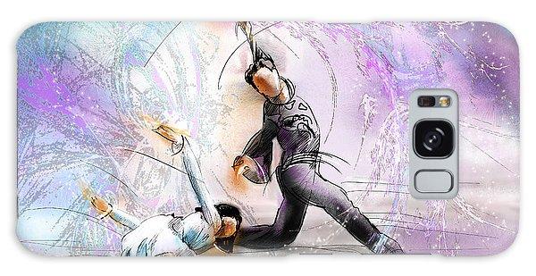 Olympic Figure Skating Galaxy Case - Figure Skating 02 by Miki De Goodaboom