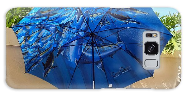 Bahamas Galaxy Case - Fine Art Umbrella by Carey Chen