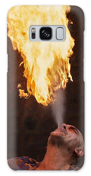 Fire Eater 2 Galaxy Case by Raffaella Lunelli