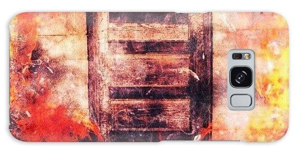 Edit Galaxy Case - Fire Escape by Mari Posa