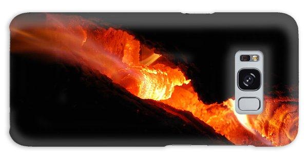 Fire Eyes Galaxy Case