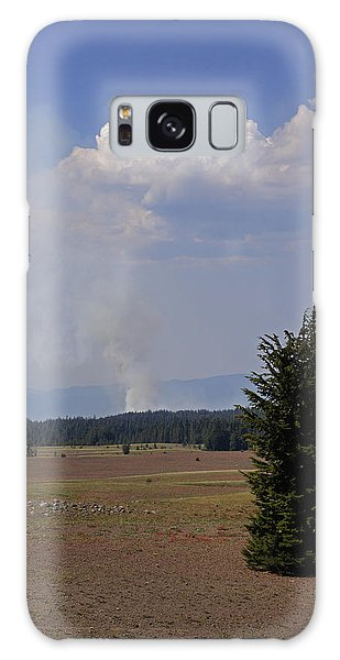 Fire In The Cascades Galaxy Case by Mick Anderson