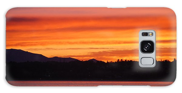 Fire Sky Galaxy Case