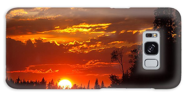 Fire Sun Galaxy Case