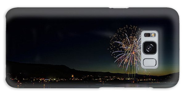 Fireworks On The River Galaxy Case