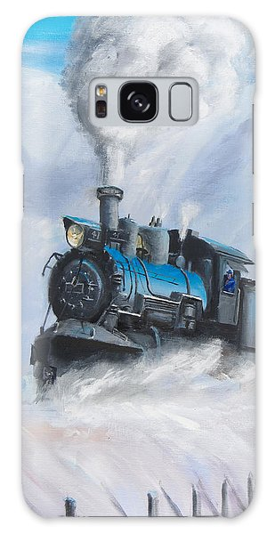 Train Galaxy S8 Case - First Train Through by Christopher Jenkins