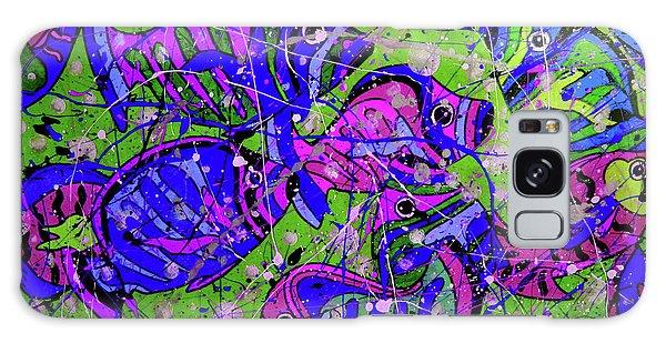 Galaxy Case - Fish 2 by Karen Elzinga