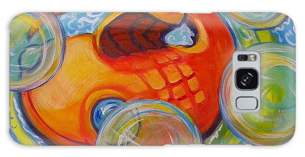 Fish Fun Galaxy Case by Jeanette Jarmon