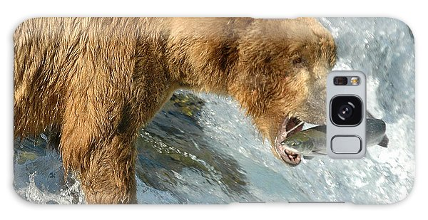 Fishing Bear Galaxy Case