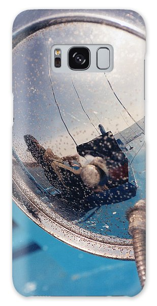 Fishing Boat Reflection Galaxy Case